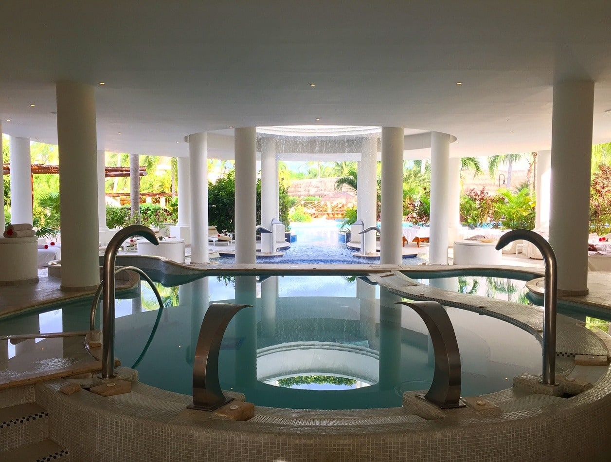 Miile Spa at Excellence Riviera Cancun hydrotherapy