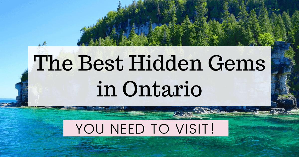Hidden Gems Ontario