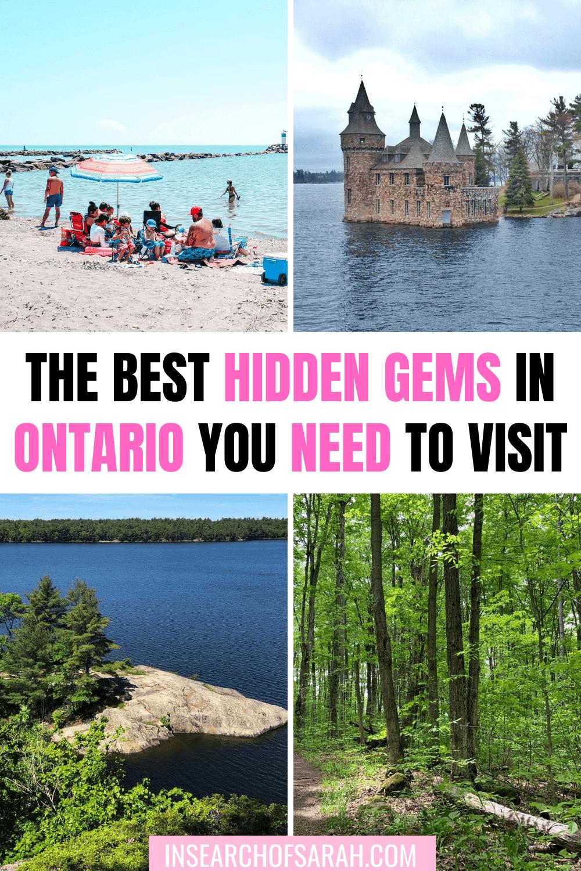 Hidden gems in Ontario