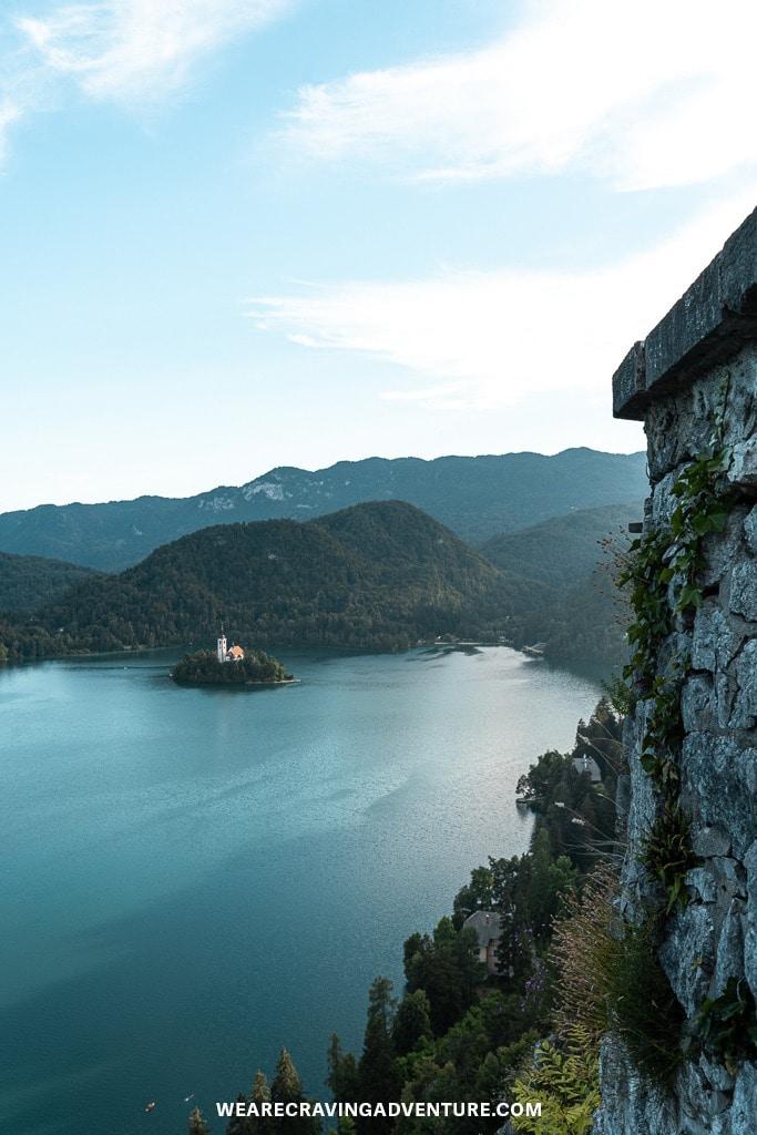 Craving Adventure Bled Castle view