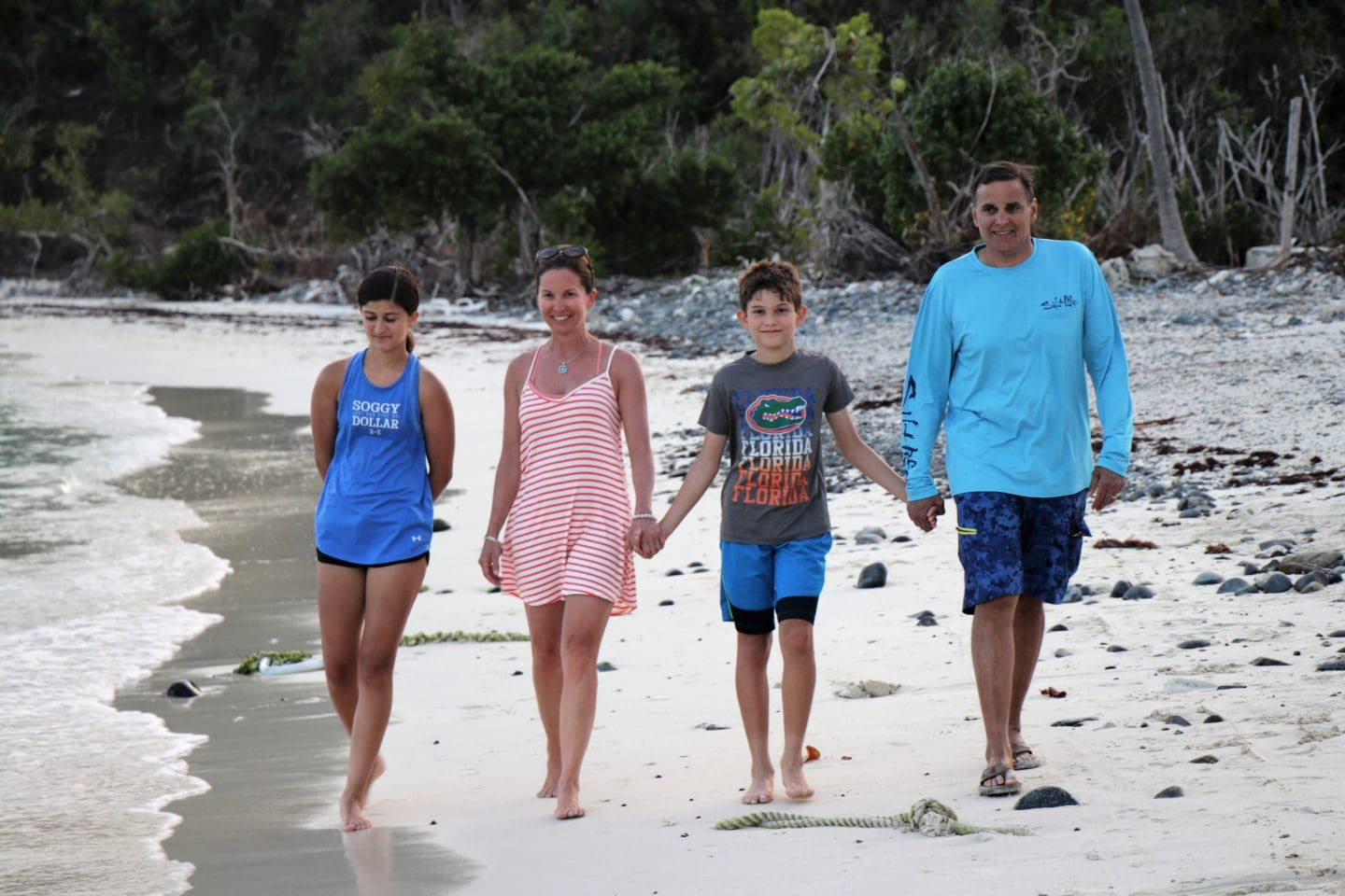 British Virgin Islands family photo