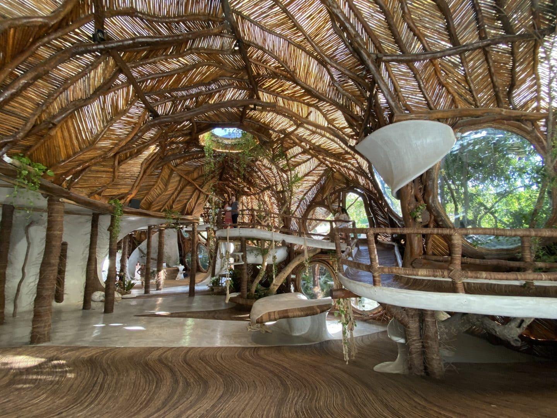 Azulik Tulum lobby