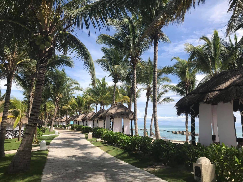 El Dorado Casitas Royale beach walkway