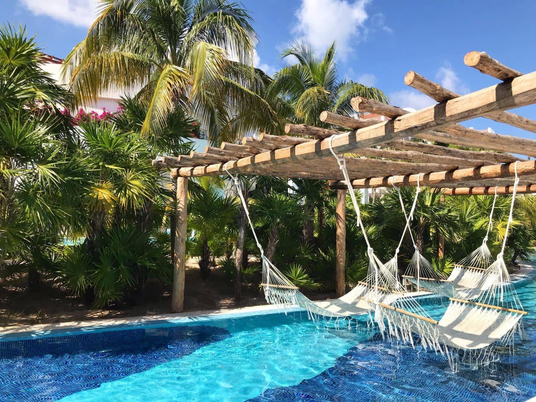 Hammocks Excellence Playa Mujeres lazy river