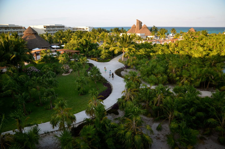 Secrets Maroma beach resort layout