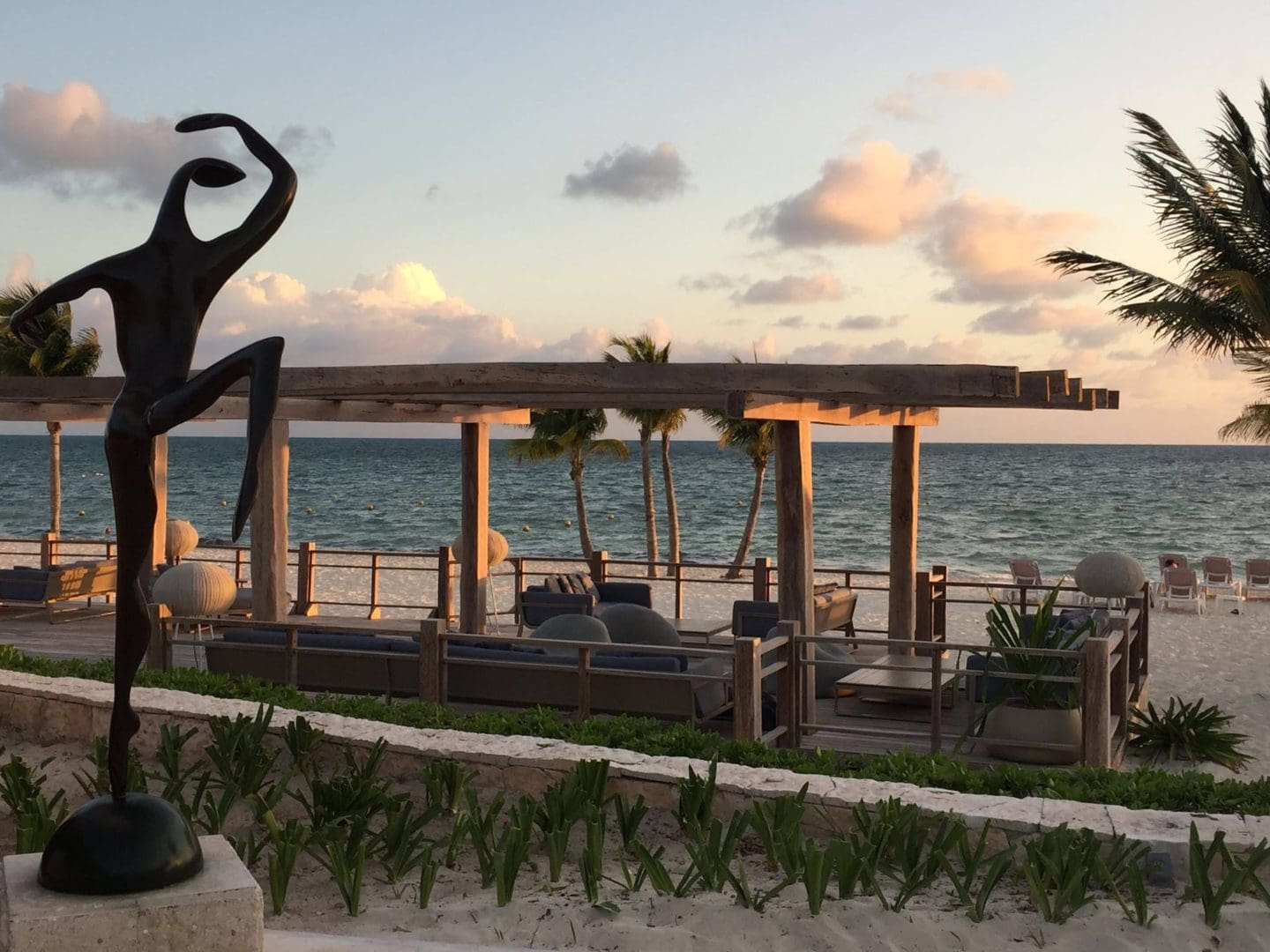Excellence Lounge on the beach