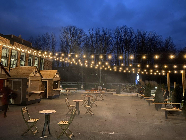 Bench Breing Company winter market