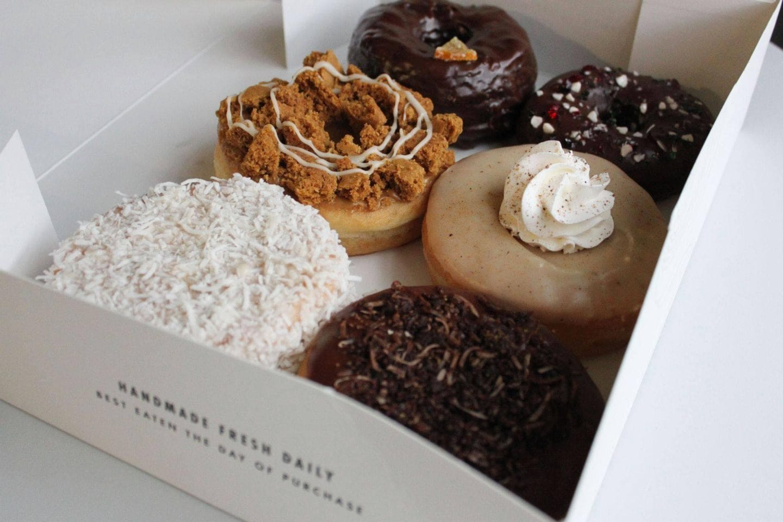 beechwood donuts box of vegan donuts