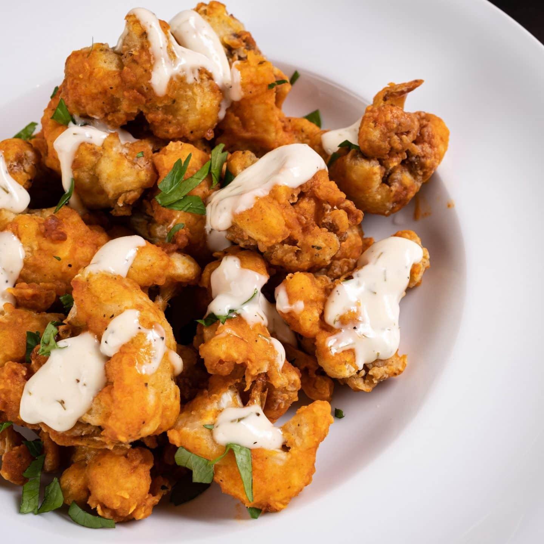 vegan cauliflower bites