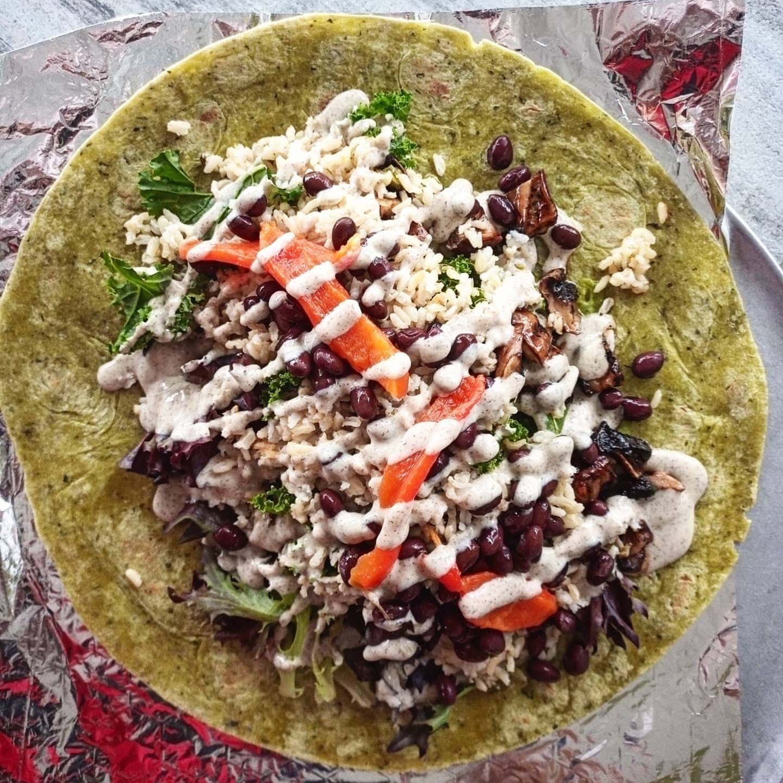 Seeds Restaurant Fonthill burrito